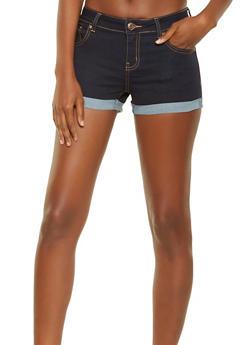 WAX Push Up Stretch Denim Shorts - 3070071619026