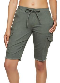 Cargo Stretch Bermuda Shorts - 3072015996359