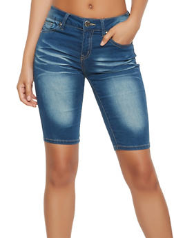VIP Denim Bermuda Shorts - 3072065308399