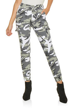 Almost Famous Camo Cargo Joggers - 3074015990004