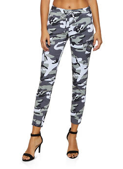 Almost Famous Camo Cargo Joggers | 3074015990024 - 3074015990024