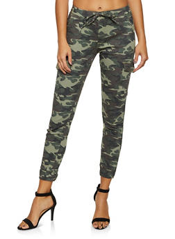 Almost Famous Camo Cargo Joggers | 3074015990124 - 3074015990124