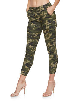 Almost Famous Camo Cargo Joggers - 3074015990400
