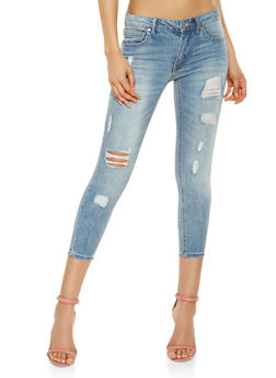 Almost Famous Distressed Jeans - 3074015991317