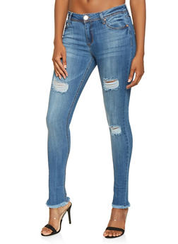 Almost Famous Frayed Jeans - 3074015992184