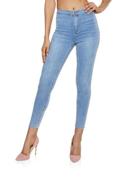Almost Famous High Waisted Stretch Skinny Jeans - 3074015993999