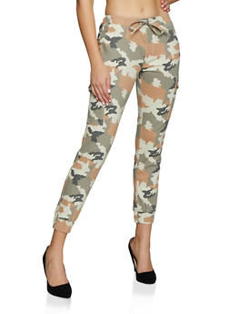 Almost Famous Faded Camo Joggers - 3074015994458