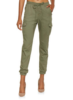 Solid Cargo Joggers - 3074015999942