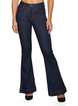 Basic Flared Jeans - 3074038208338
