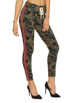Side Stripe Hyperstretch Camo Pants - 3074056572086
