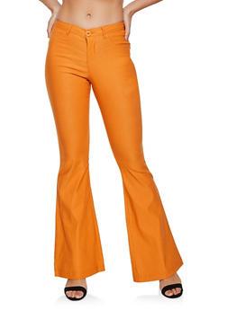 Flared Stretch Dress Pants - 3074056575617