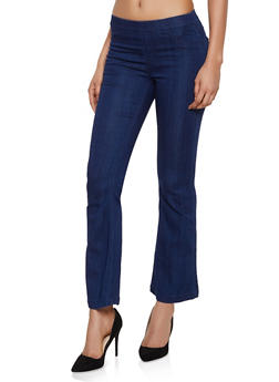 Cello Flared Stretch Pull On Jeans - 3074063152344
