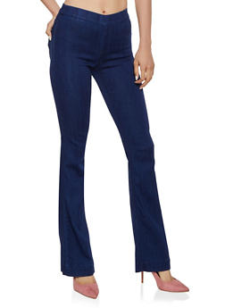Cello Flared Pull On Jeans | 3074063154432 - 3074063154432