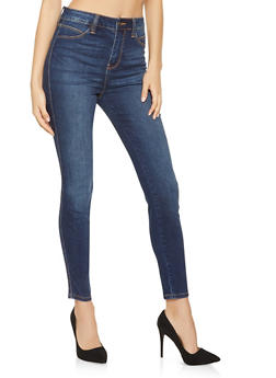 Cello Whisker Wash Skinny Jeans - 3074063155113