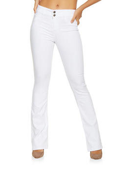 Cello Two Button Boot Cut Jeans - 3074063155638