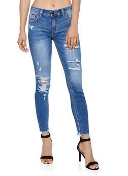 Cello Destruction Skinny Jeans | 3074063156776 - 3074063156776