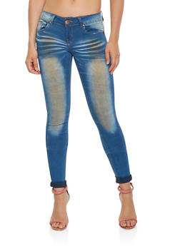 VIP Antique Wash Push Up Jeans - 3074065300069