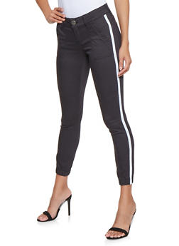 VIP Side Stripe Push Up Joggers - 3074065300127
