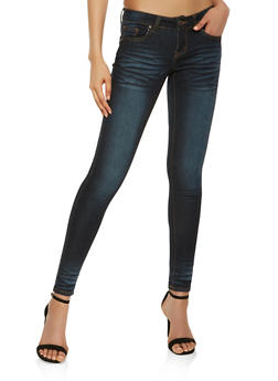 VIP Whisker Wash Push Up Jeans - 3074065300582
