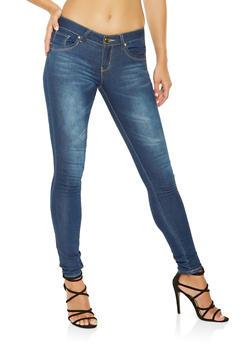 VIP Push Up Skinny Jeans - 3074065307316
