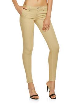 Skinny Khaki Pants - 3074065308448