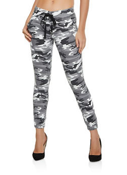 Camo Pull On Joggers - 3074065309528