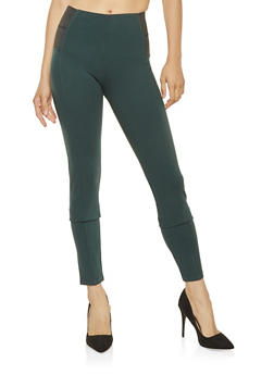 780b2111af Pull On Ponte Pants - 3074068192000