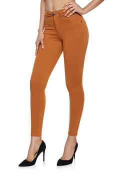 Ponte Knit Jeggings - 3074068199113