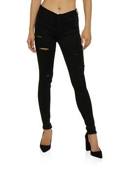 WAX Distressed Skinny Jeans | 3074071610006 - 3074071610006