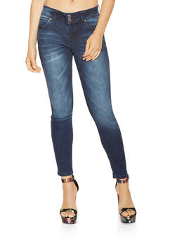 WAX 2 Button Push Up Jeans - 3074071610082