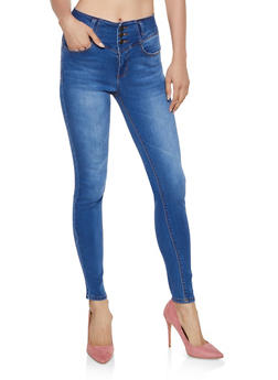 WAX Basic Push Up Skinny Jeans - 3074071610164