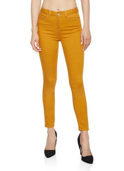 Colored Twill Pants - 3074071610168