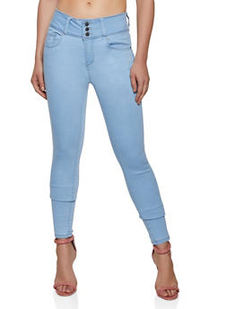 WAX 3 Button Jeans - 3074071614000