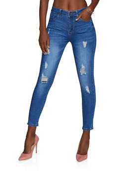 WAX High Waisted Skinny Jeans - 3074071614690