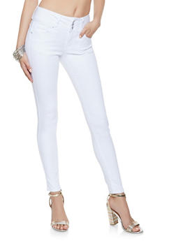 WAX 3 Button Push Up Jeans - 3074071619340