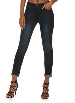 Skinny Moto Jeans - 3074072290029