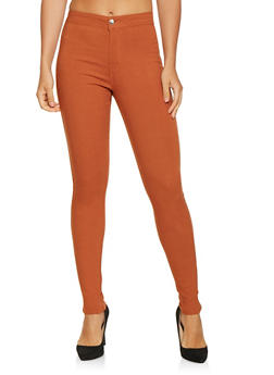 High Waisted Jeggings - 3074072292411