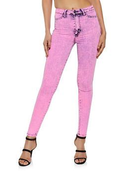 Neon Skinny Jeans - 3074072294466