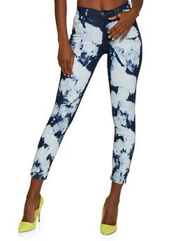 Cloud Wash Skinny Jeans - 3074072294533