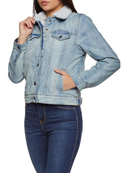 Highway Sherpa Lined Jean Jacket - 3075071317986