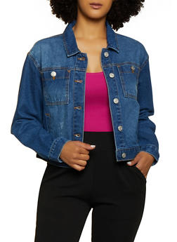 WAX Basic Denim Jacket - 3075071610167