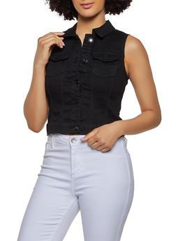 WAX Basic Denim Vest - 3075071611111
