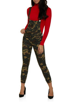 VIP Tapered Camo Overalls - 3078065309005