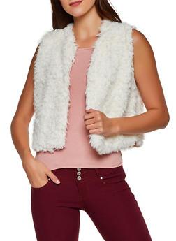 Faux Fur Vest | 3084038340103 - 3084038340103