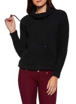 Sherpa Funnel Neck Sweatshirt - 3084038344551
