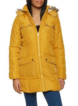 Sherpa Lined Puffer Jacket - 3084051067744