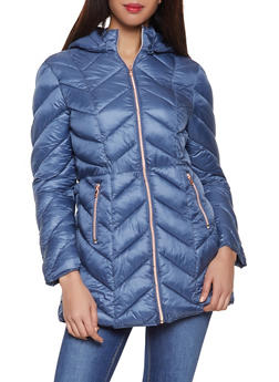 Hooded Puffer Jacket - 3084072190462