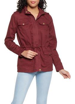 Hooded Anorak Jacket - 3086051061091