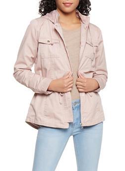 Hooded Anorak Jacket - 3086051063730