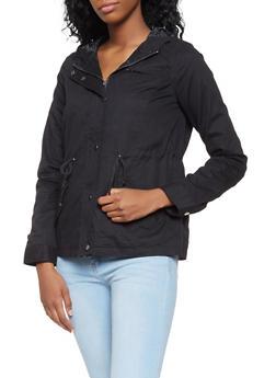 Hooded Anorak Jacket - 3086051066583